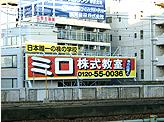 大阪市北区中津屋外看板 ミロ