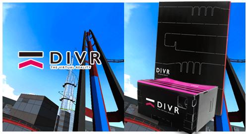 DiVR(ダイバー)ダンボール製VRゴーグル
