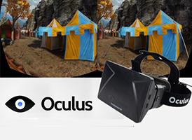 Oculus rift(オキュラス・リフト)アプリ開発